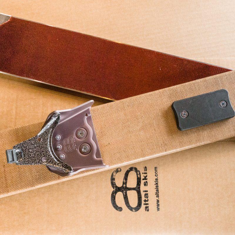 3 Pin Binding (75 Mm) – Includes Heel Kit